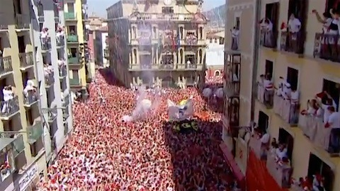 Pampelune. Suspension de la San Fermín 2020